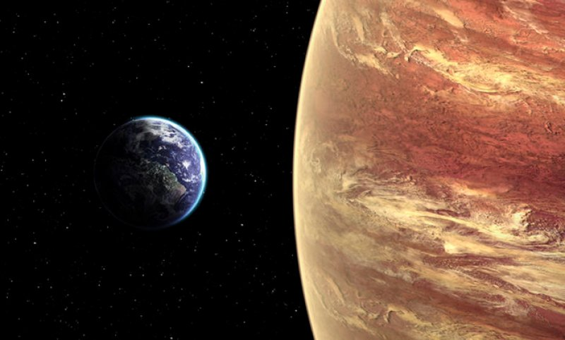 The mass of the core of Jupiter is 10 times the mass of our Earth.