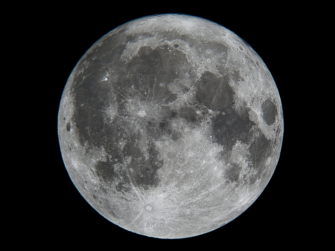 The moon is not round—it is shaped like an egg.
