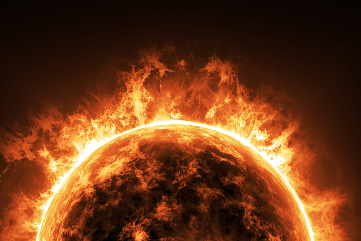The sun is currently in its yellow dwarf stage.