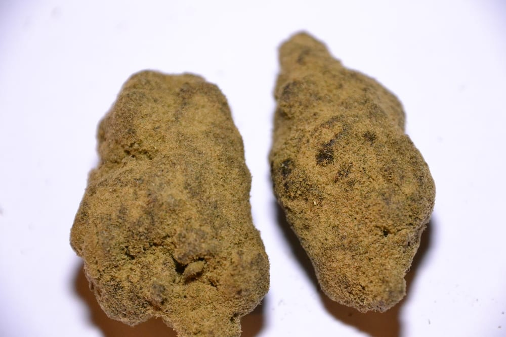 There are three kinds of moon rocks: basalt, anorthosite, and breccia.