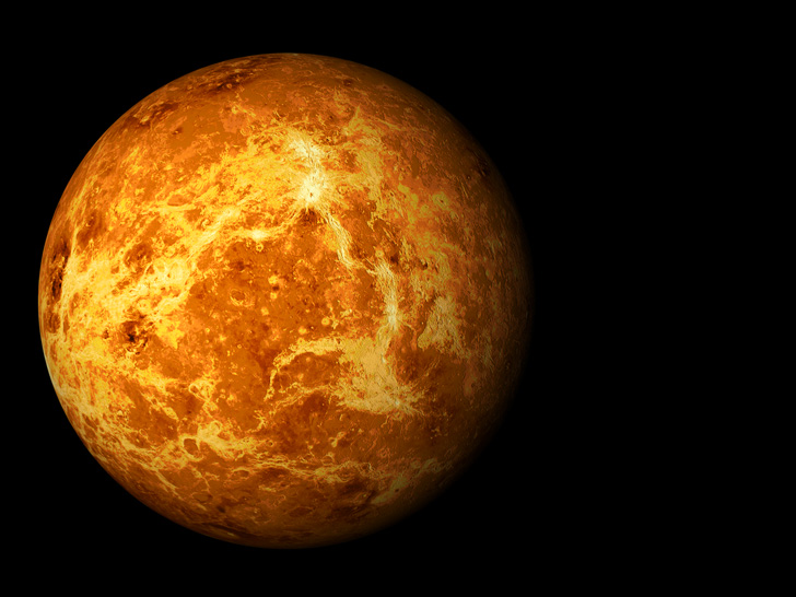 Venus rotates on its axis from East to West.