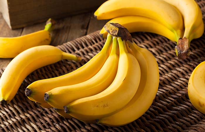 A cluster of bananas is called a hand, and a single banana is called a finger.