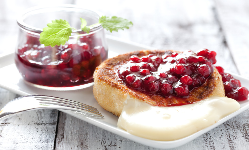 Cranberries are also used in baking.