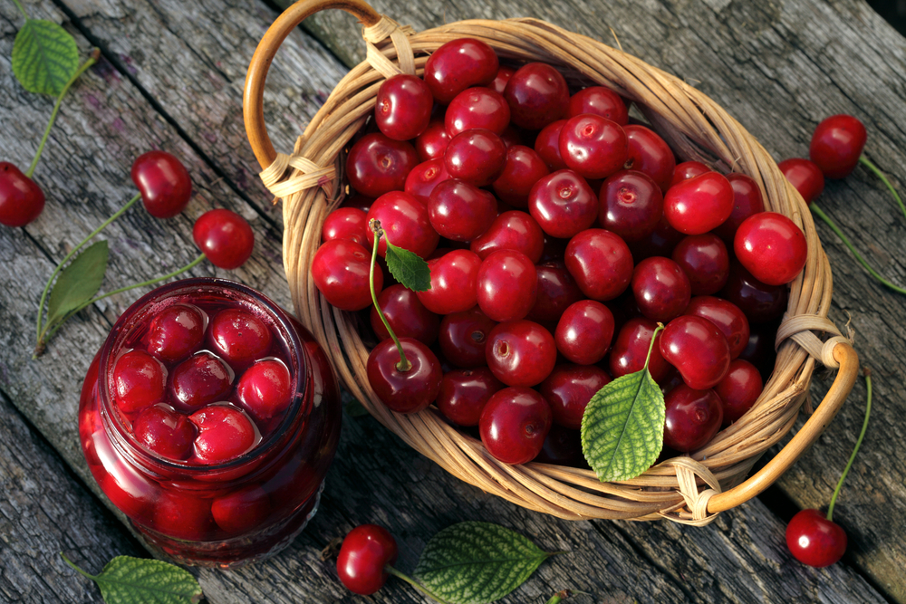 Anti-inflammatory property of cherries has been found effective in reducing heart-disease risk.