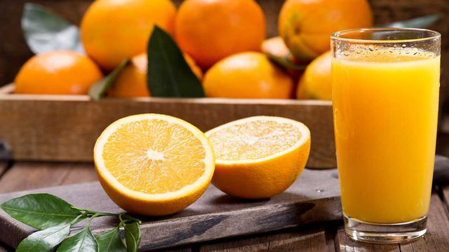 Orange juice is the most popular juice in America.