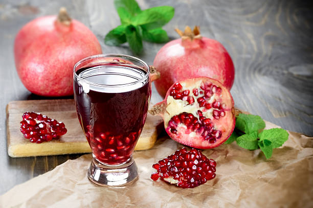 Pomegranate juice has long been a popular drink in Europe.