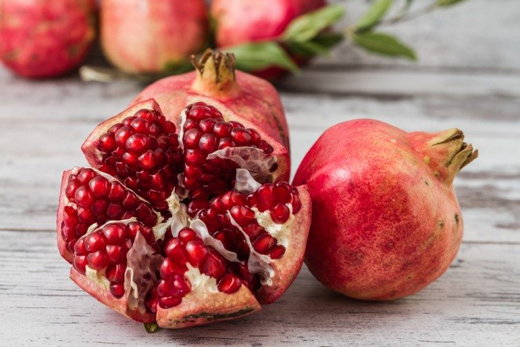 Pomegranates are mentioned many times in the Bible.