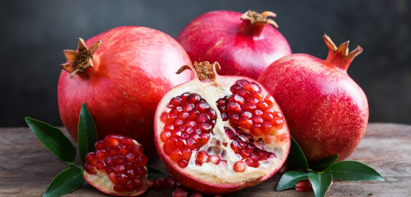 Pomegranates were introduced into Spanish America in the late 16th century.