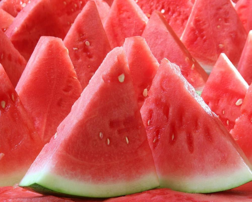 Seedless watermelons aren't completely seedless. They have thin, tiny, edible seed coats that never developed into seeds.