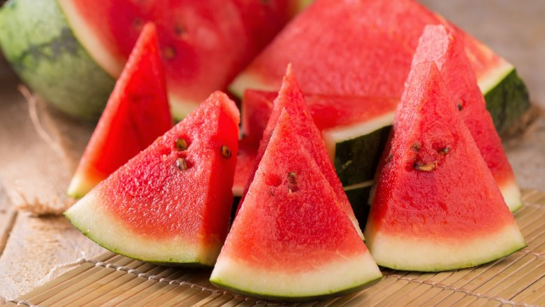 Watermelon came from the Kalahari Desert in Africa.