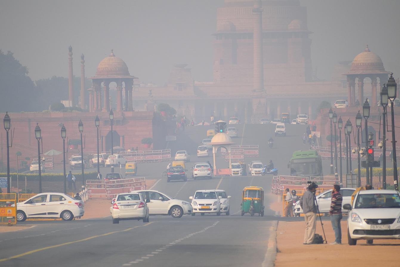 Delhi - the capital of India has the most polluted air in the world.