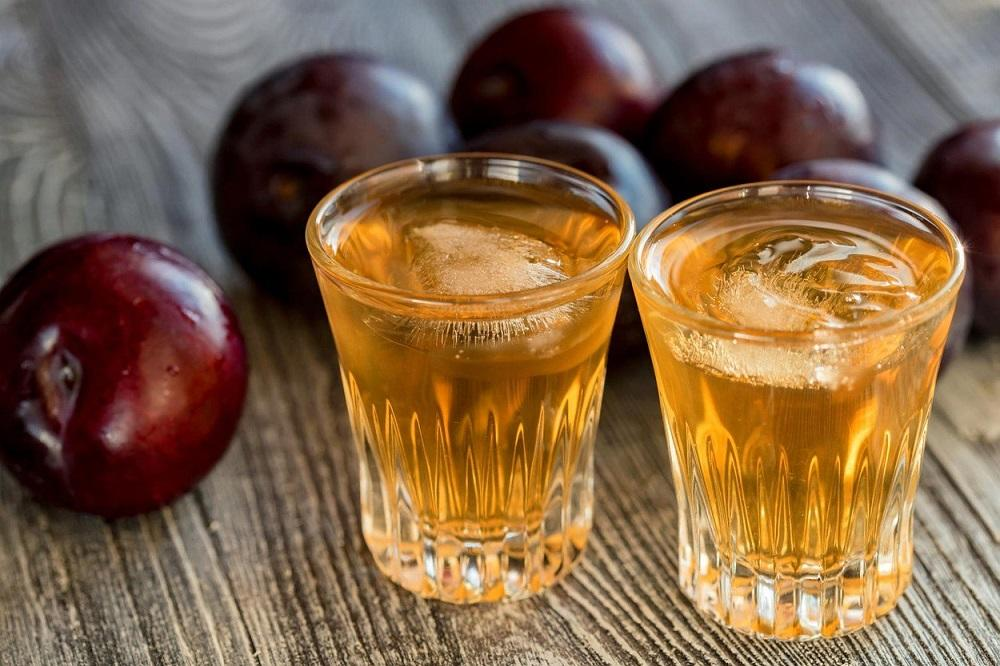 In the Balkans, plum is converted into an alcoholic drink named slivovitz .