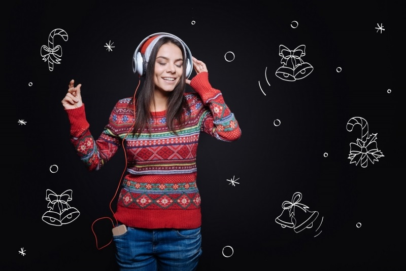 Jingle Bells was the first song to be performed in the outer space by Astronauts.