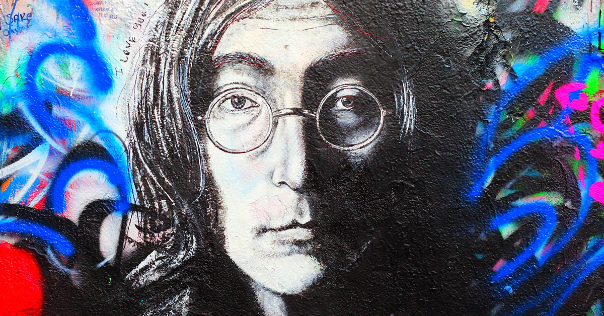 John Lennon's singing career started as a choir boy at St. Peter's church.