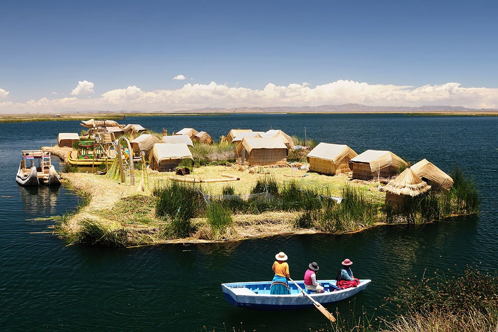 Lake Titicaca which is located on the boundary of Bolivia and Peru is known as the largest lake in South America.