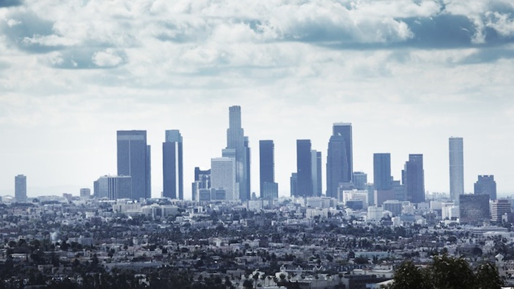 Los Angeles is the most polluted metropolitan.