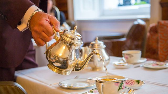 The Ritz Carlton has the most expensive High Tea meal.