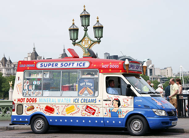 The first ice cream truck vendor was Harry Burt in the United States.