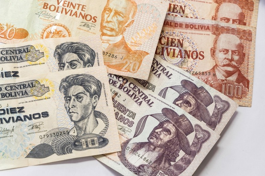 The official currency of Bolivia is Boliviano