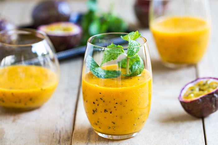 The passion fruit juice in Sri Lanka is one of the most popular refreshments.