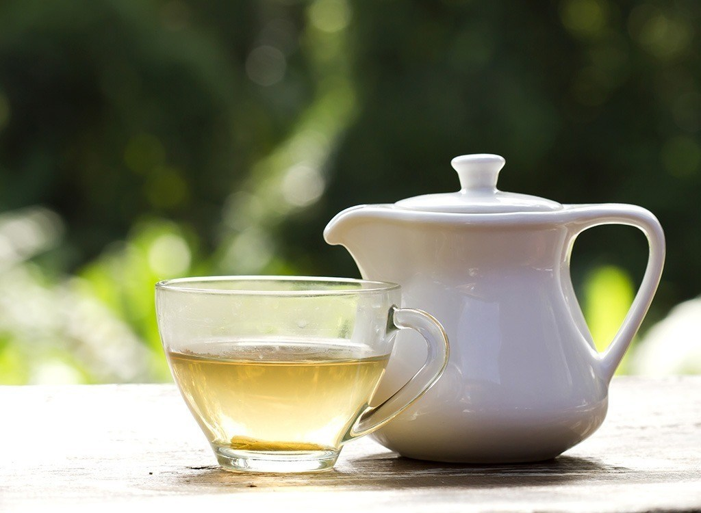 White tea is the least processed type of tea.