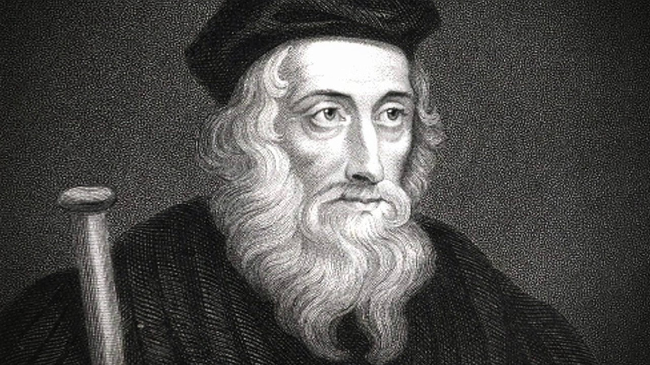 John Wycliffe produced the first translation of the entire Bible.