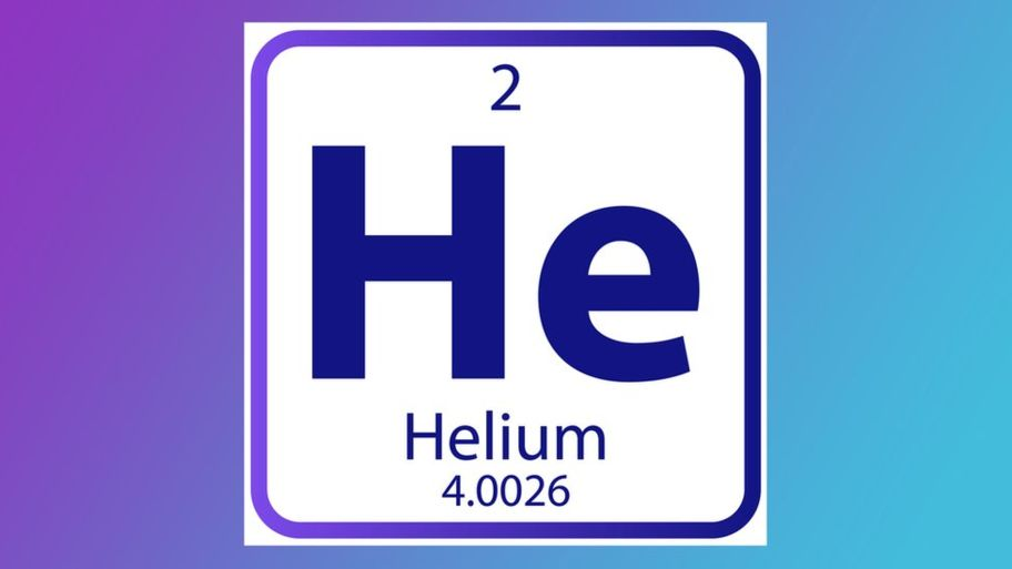 The atomic number of Helium is 2.
